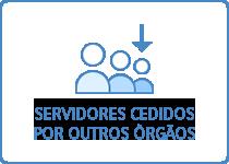 Servidores cedidos por outros òrgãos