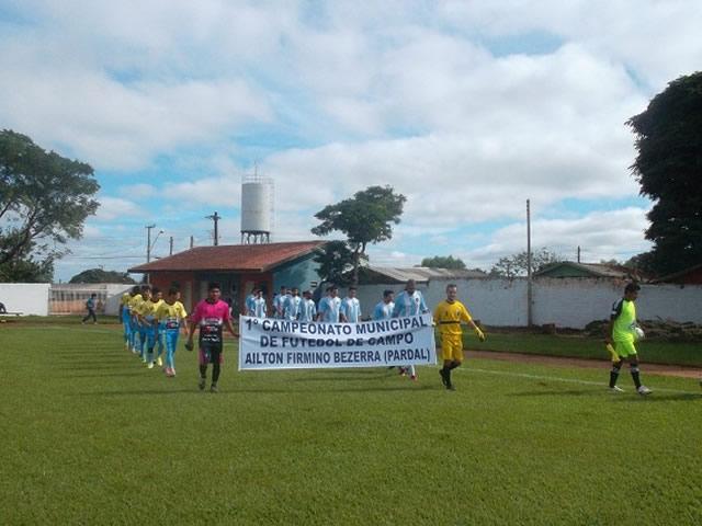 1º Campeonato Municipal de Futebol de Campo AILTON FIRMINO BEZERRA - Pardal
