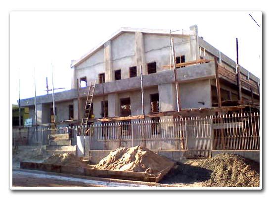 Construção da nova sede da Igreja Congregação Cristã do Brasil