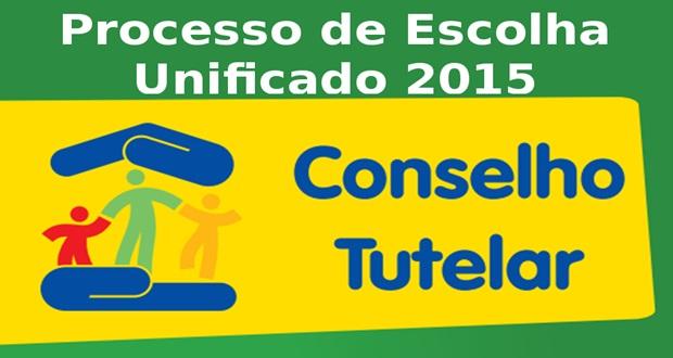 Eleição Unificada para Escolha de Conselheiros Tutelares 2015